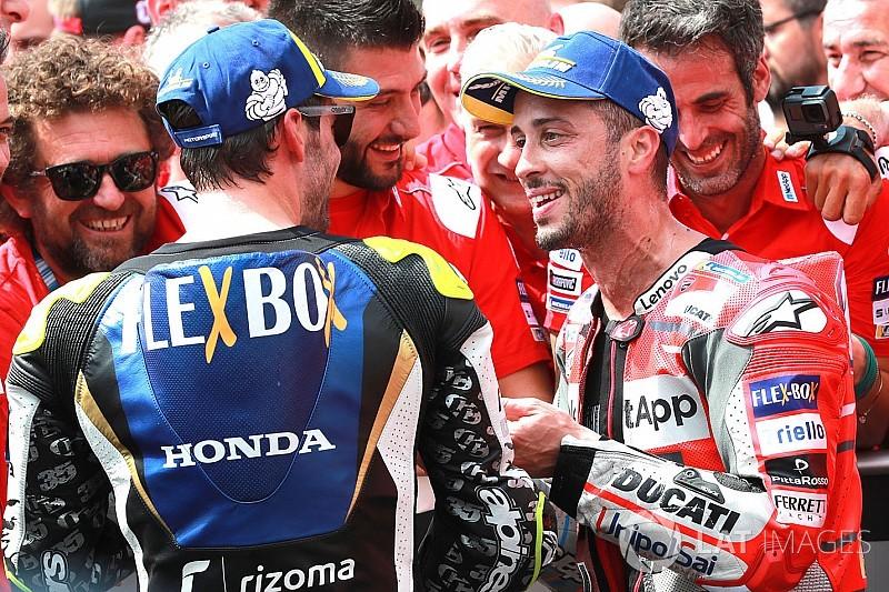Dovizioso körről körre döntött a stratégiáról a Cseh GP-n