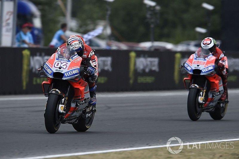 Malgré le statut de favori, on reste sur ses gardes chez Ducati