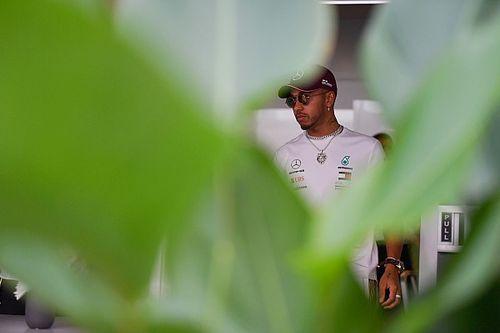 """Hamilton úgy érzi, """"amatőr hibát"""" vétett Vettel mögött"""