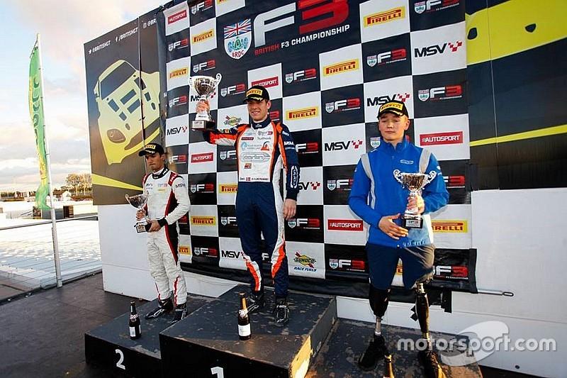 Billy Monger lascia Donington con il terzo posto in Gara 3