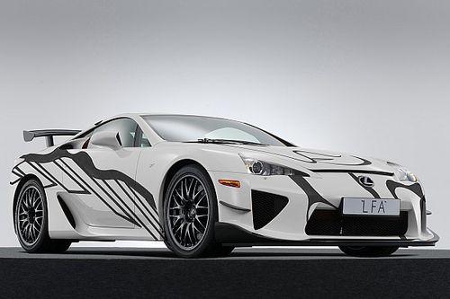 Une Lexus LFA Art Car aux 24H de Spa