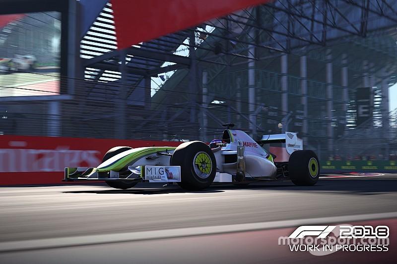 VIDEO: las mejoras de gráficos y sonido del F1 2018