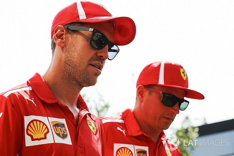 Vettel dice que Raikkonen tiene permiso para intentar ganar en Monza