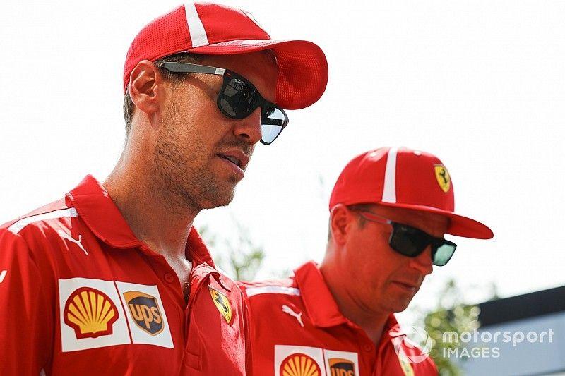 """Vettel : """"Triste de savoir que Räikkönen ne sera plus là"""""""