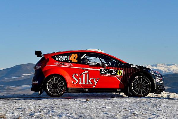 Andrea Crugnola miglior pilota italiano al Rally di Monte-Carlo