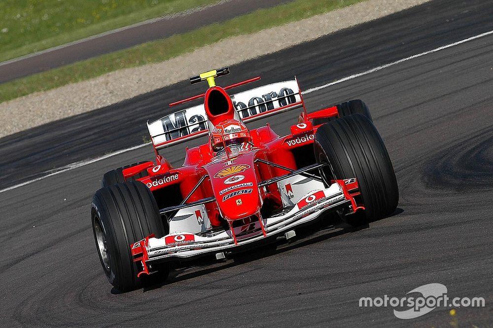 米克将在霍根海姆驾驶舒马赫F2004赛车