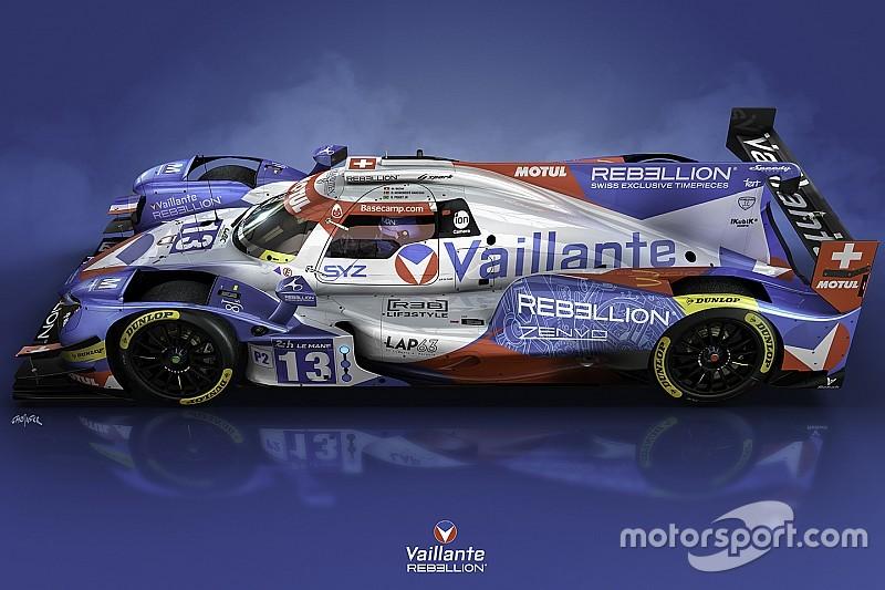 La livrée Vaillante Rebellion pour Le Mans dévoilée