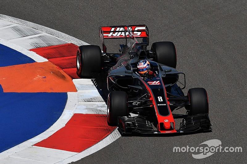 Münzwurf: Keine Updates für Grosjean beim F1-GP in Spanien am Freitag