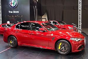 OTOMOBİL Haberler 2017 İstanbul Autoshow'da Alfa Romeo Giulia rüzgârı