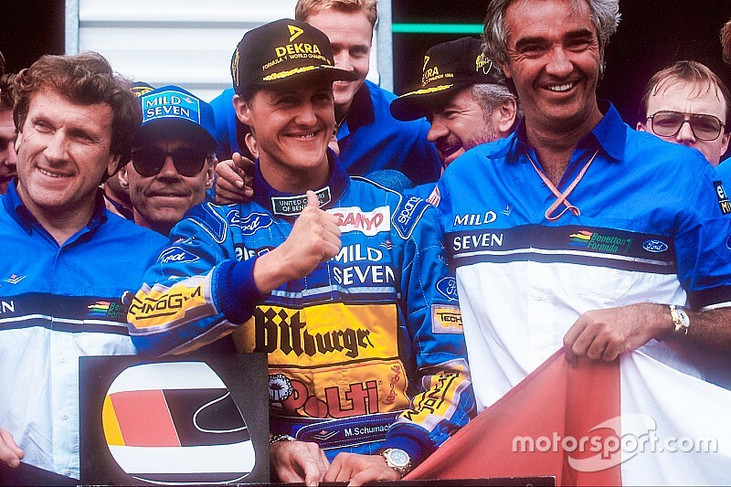 Schumacher po śmierci Senny chciał odejść z F1