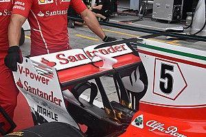 Les nouveautés techniques à Monza