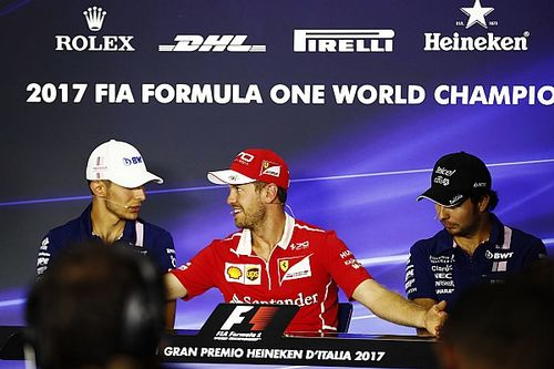 "Vettel ""separa"" Pérez e Ocon"