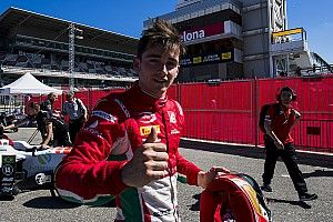 Leclerc column: Barcelona win adds to perfect start in F2