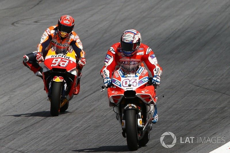 """Marquez """"forgot about championship"""" in last-lap lunge"""