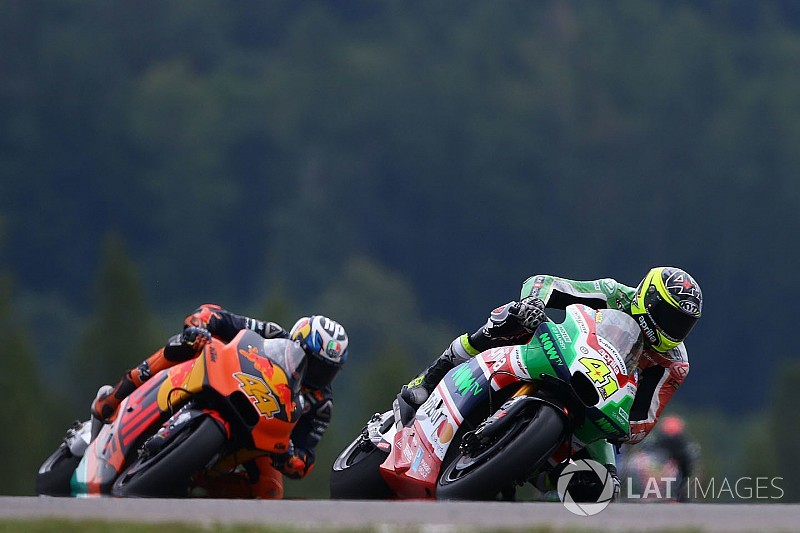 "Aprilia says beating KTM is ""almost an anomaly"""
