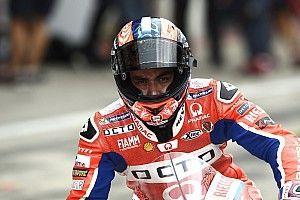MotoGPサンマリノ初日:マルケスFP1首位もFP2で転倒。ペトルッチも好調