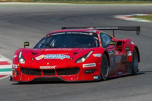 Malucelli in pole alla 12 Ore del Mugello con la Ferrari della Scuderia Praha