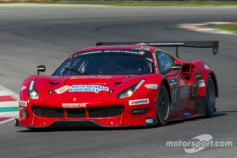 Scuderia Praha Ferrari on pole for 12H Mugello