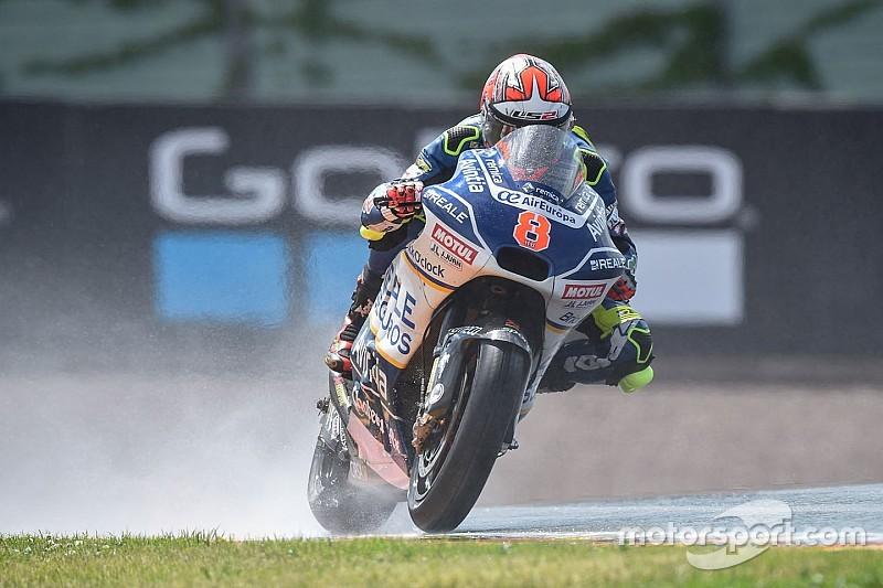 Sachsenring MotoGP: Barbera beats Marquez in wet FP2