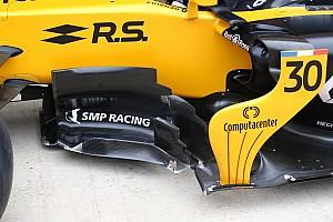 Renault: il nuovo barge board fa volare Hulkenberg