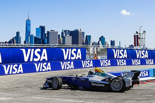 Fotogallery: le suggestive immagini dell'ePrix di New York 2017