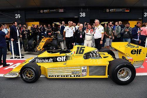 Fotogallery: le celebrazioni dei 40 anni di F.1 della Renault