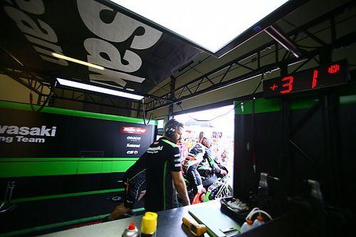 Parenthèse de travail au Lausitzring pour plusieurs équipes WSBK