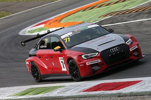 Enrico Bettera con l'Audi di Pit Lane Competizioni per il 2018