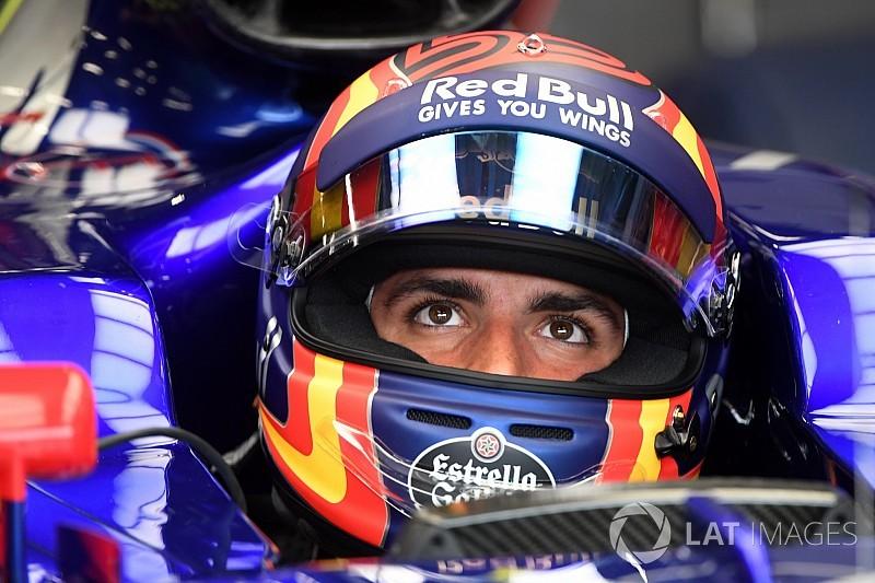 Сайнс впервые протестировал машину Renault. В Gran Turismo