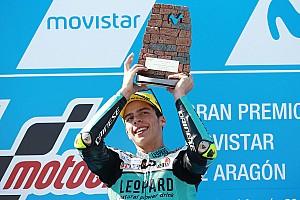 Moto3 Raceverslag Mir wint ook Grand Prix van Aragon, Bendsneyder met lege handen