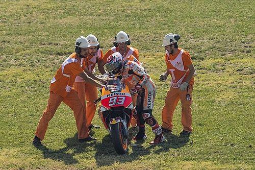 "MotoGP Aragon: Marquez schmeißt Pole-Position weg: ""Mein Fehler!"""