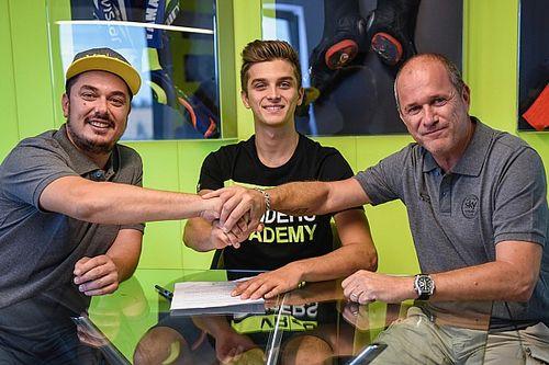 Marini naar Moto2-team van halfbroer Rossi in 2018