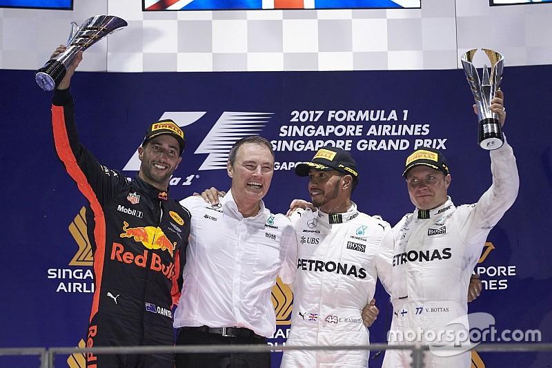 GALERIA: Relembre todos os vencedores do GP de Singapura