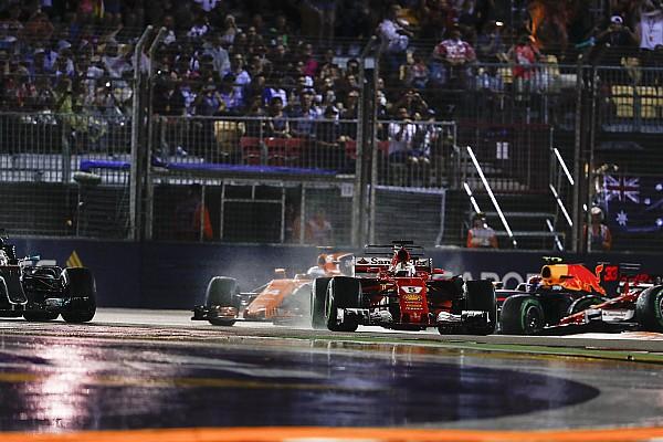 Formel 1 Nach F1-Singapur-Drama: Alonso schlug ein Loch in die Wand