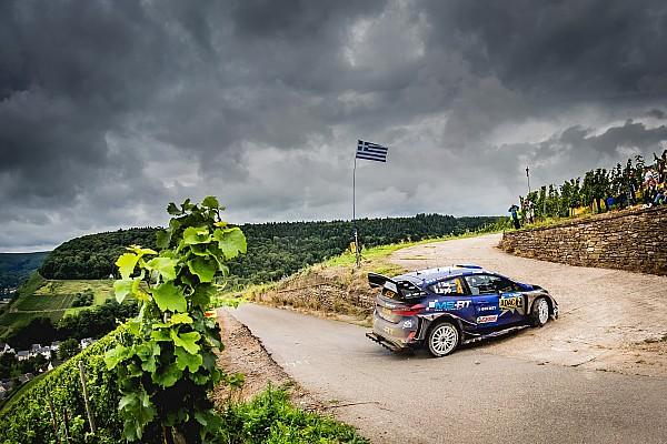 WRC Resumen de la etapa Tanak finaliza el sábado en Alemania como líder