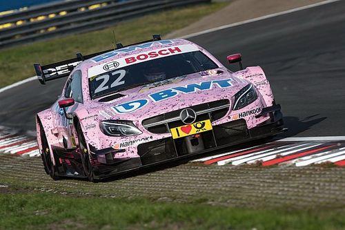DTM 2017 am Nürburgring: Mercedes-Fahrer Lucas Auer auf Pole-Position