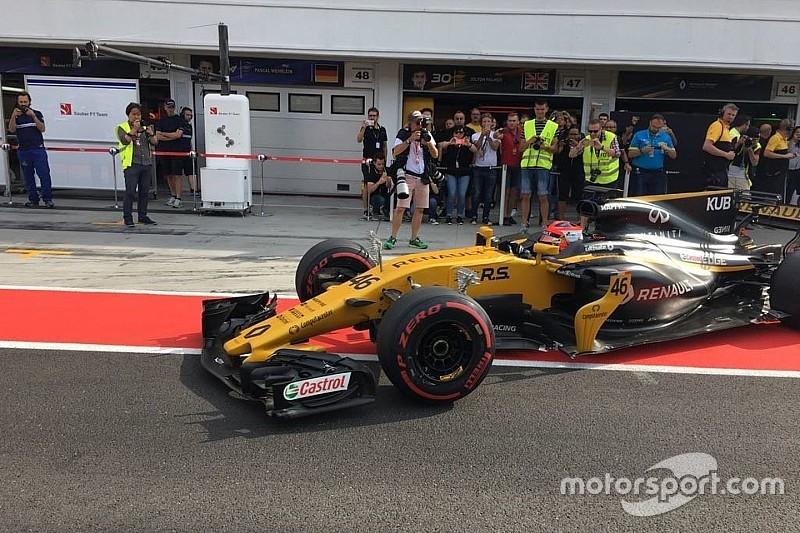 Test Hungaroring: ecco le prime foto di Kubica sulla Renault R.S.17