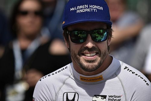 """Alonso: """"Las dos mejores semanas del año fueron las de Indianápolis"""""""