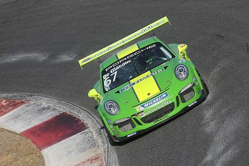 Carrera Cup Italia, Vallelunga: De Giacomi ritrova la pole in Michelin Cup