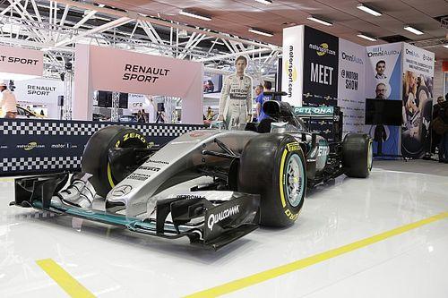 Motor Show: la Mercedes di Rosberg è esposta allo stand di Motorsport.com!