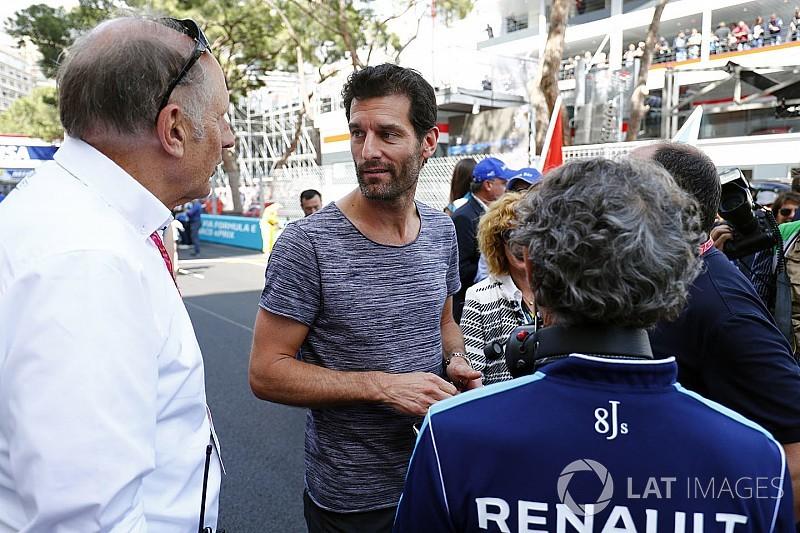 """Webber: """"La Formula E diventerà la categoria più difficile"""""""