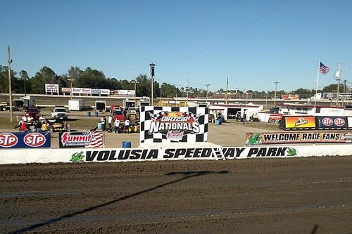 Three injured after car goes into stands at Volusia Speedway Park