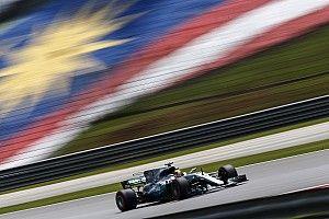 F1マレーシアGP 予選速報:ハミルトン驚速PP。一方ベッテルまさかのノータイム