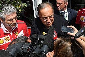 """Marchionne: """"La squadra non si tocca: la Ferrari punta sulla stabilità"""""""