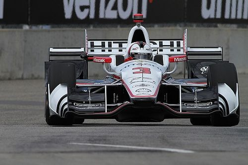IndyCar Detroit: Castroneves en Rahal snelste in trainingen