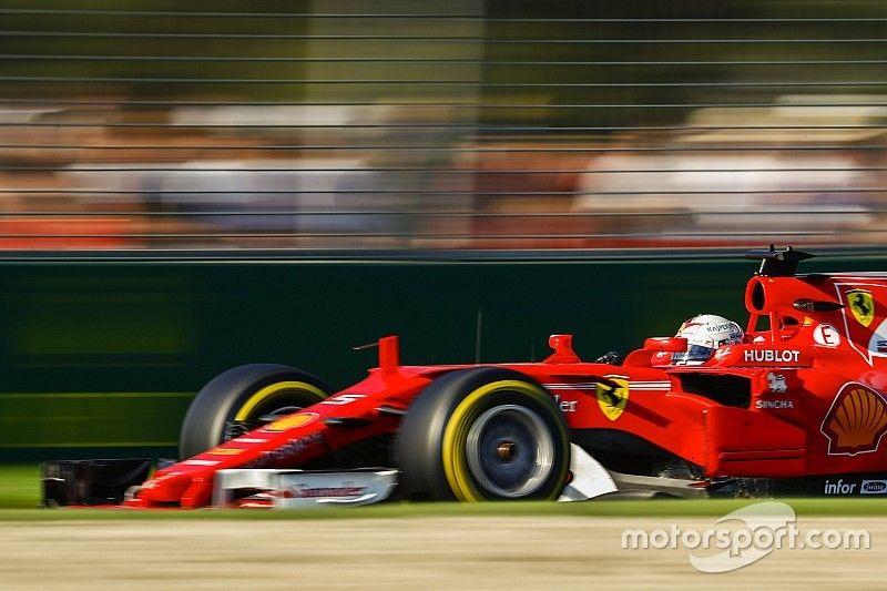 Vettel inicia una historia de amor con 'Gina'