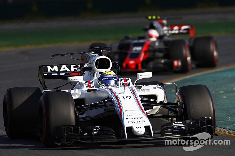 """Massa, sixième : """"Pas mal pour un vieux!"""""""
