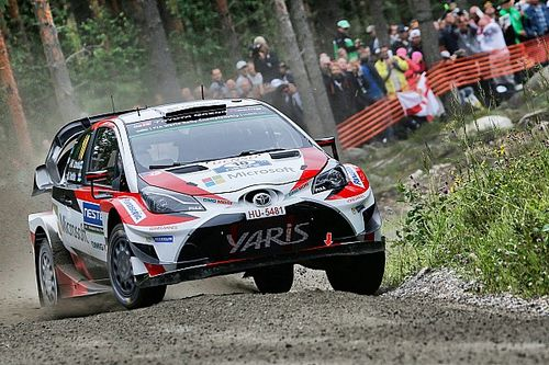 Экипажи Toyota возглавили Ралли Финляндия
