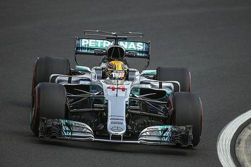 Hamilton niet bezig met pole-record Schumacher en WK-leiding
