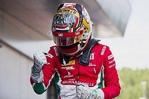 """El accidente no empaña un buen fin de semana"", por Charles Leclerc"